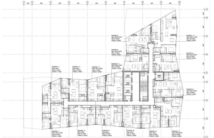 Swanston Central Melbourne Floor Plan Hotline 65 61007688